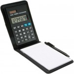 Note Pad with calculator
