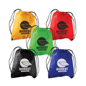 non woven drawstring backpack bag